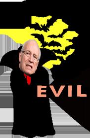 Cheney evil