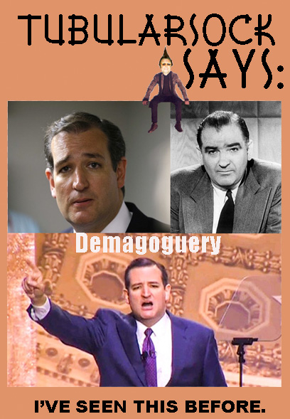 Cruz Demagoguery