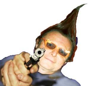 Tube gun slant