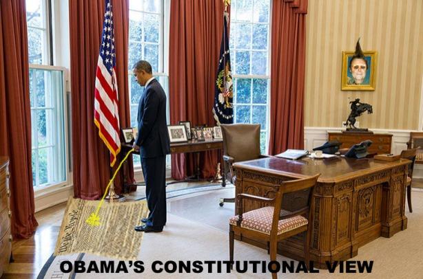 Obama Con view