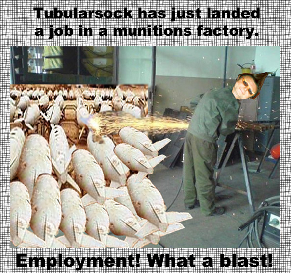 Tube employment blast