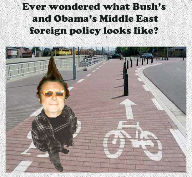 Bush:Obama mid-east