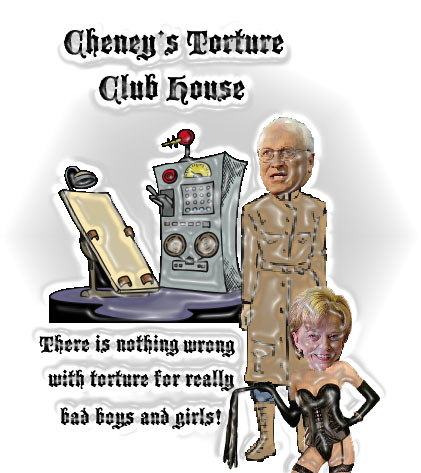 cheney torture club