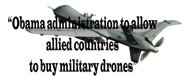 Obama drone headline