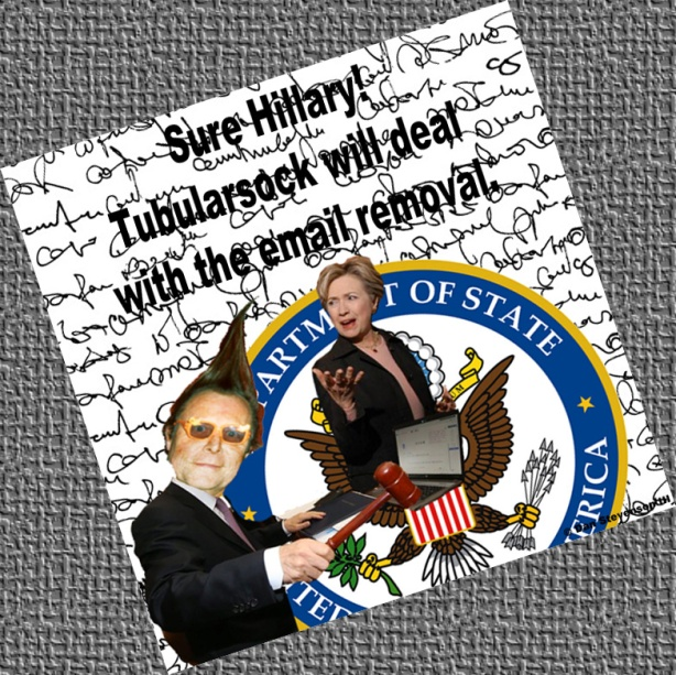 Tube Hillary email