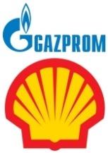 Gazprom-Shell logo