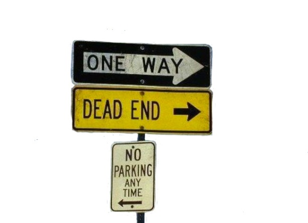 one way dead end