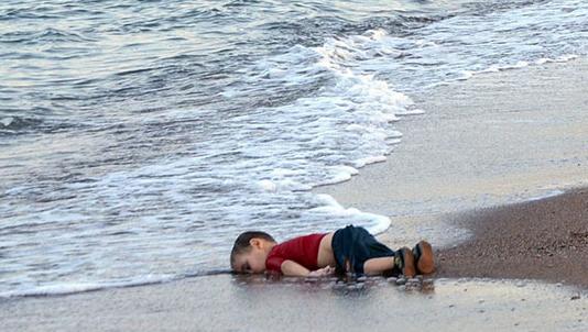 little boy dead on beach