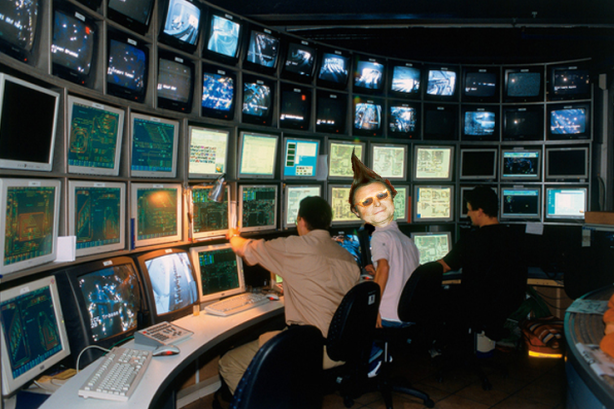 Tube control room