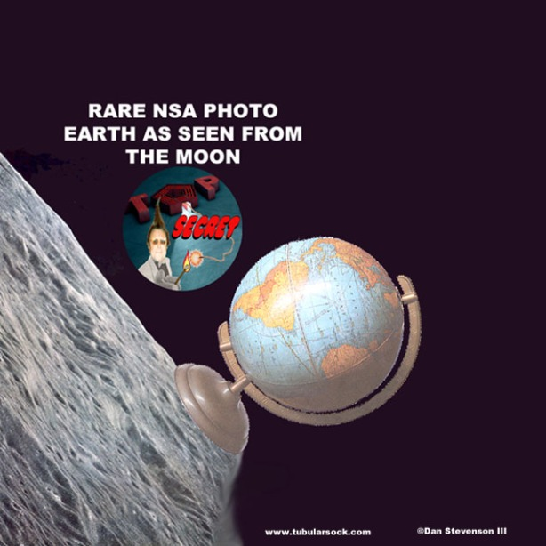 Earth from moon Tube