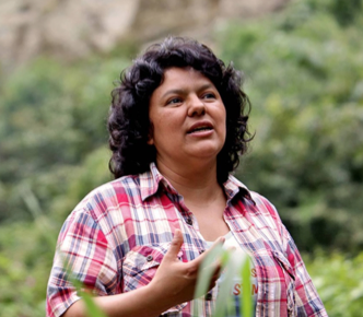 Berta Caceres: A True Feminist Leader. RIP.