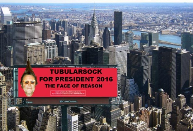 Tubularsock Billboard Campaign NY