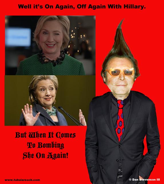 Tube Hillary on:off