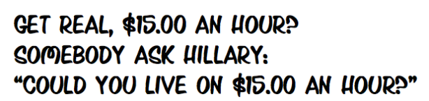 Hillary $15