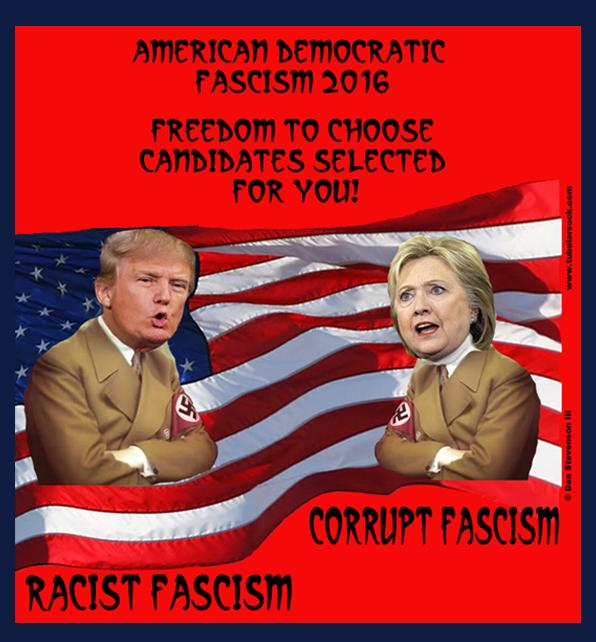 Trump:Hillary Fascism