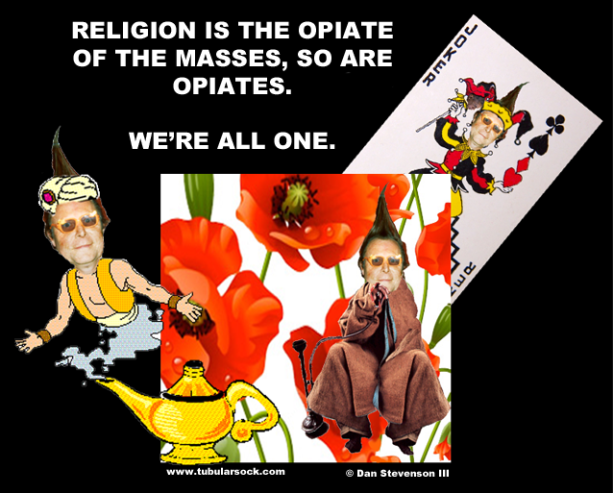 TUBE OPIATE RELIGION