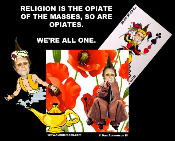 TUBE OPIATE RELIGION