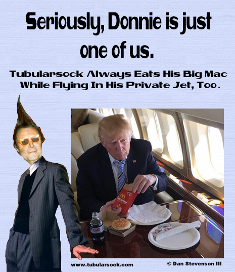 Tube Trump Big Mac